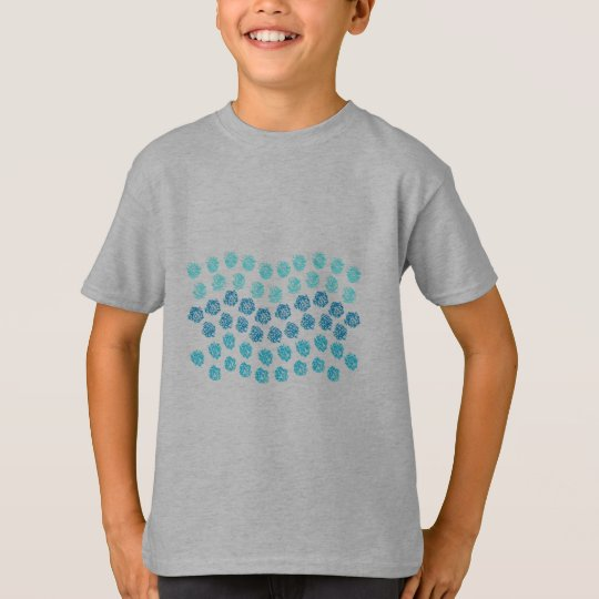 Blue Waves Kids' T-Shirt