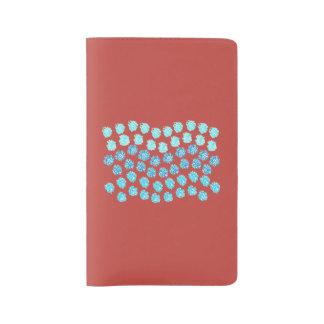 Blue Waves Large Notebook