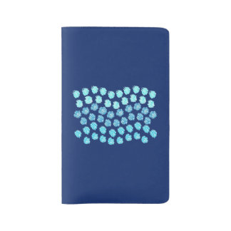 Blue Waves Large Notebook