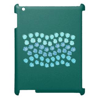 Blue Waves Matte iPad Case