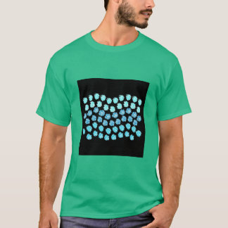 Blue Waves Men's Basic Dark T-Shirt