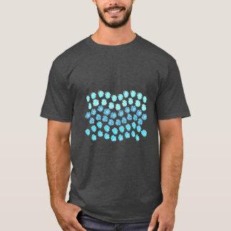 Blue Waves Men's Basic Dark T-Shirt