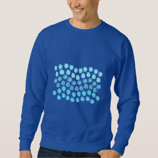 Blue Waves Men's Basic Sweatshirt