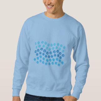 Blue Waves Men's Basic Sweatshirt
