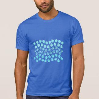 Blue Waves Men's Crew Neck T-Shirt