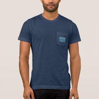 Blue Waves Men's Pocket T-Shirt