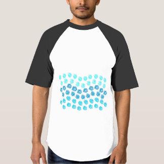 Blue Waves Men's Raglan Baseball T-Shirt