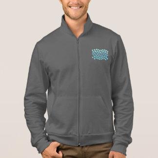 Blue Waves Men's Zip Jogger Jacket