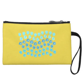 Blue Waves Mini Clutch