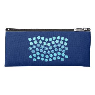 Blue Waves Pencil Case