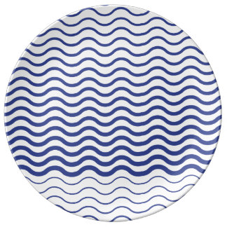 Blue Waves Plate