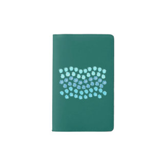 Blue Waves Pocket Notebook