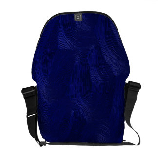 Blue Waves Rickshaw Messenger Bag