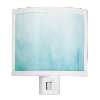 Blue Waves Seashore Night Light
