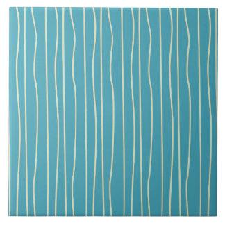 Blue Waves Tile
