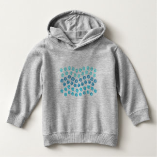 Blue Waves Toddler Pullover Hoodie