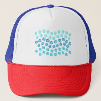 Blue Waves Trucker Hat