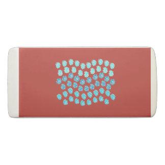 Blue Waves Wedge Eraser