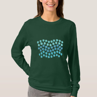 Blue Waves Women's Basic Long Sleeve T-Shirt