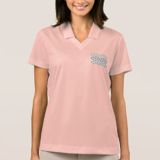 Blue Waves Women's Pique Polo T-Shirt