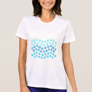 Blue Waves Women's Sports T-Shirt