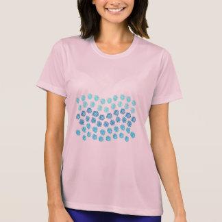 Blue Waves Women's Sports T-Shirt
