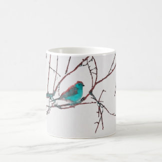 Blue Waxbill Coffee Mug