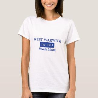 Blue West Warwick Rhode Island Tee