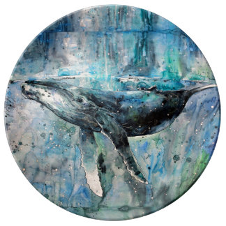 Blue Whale Collection Plate