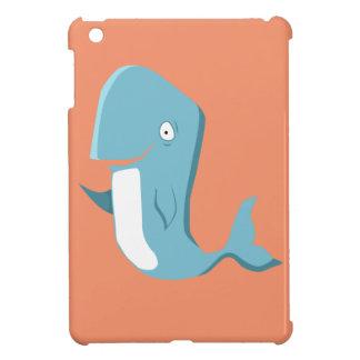 blue whale iPad mini cover