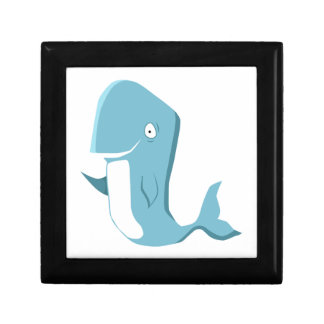 blue whale keepsake box