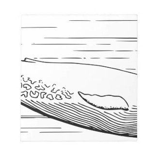 Blue Whale Notepad