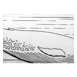 Blue Whale Placemat