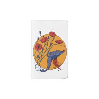 Blue Whale Pocket Moleskine Notebook