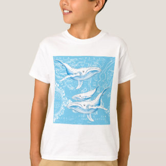 Blue Whales Family T-Shirt