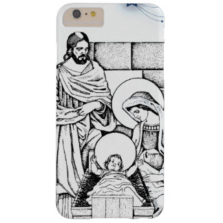 Blue, White and Black Original Nativity Barely There iPhone 6 Plus Case