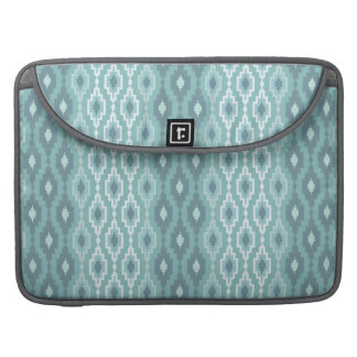 Blue & White  Argyle - Rickshaw Macbook Sleeve