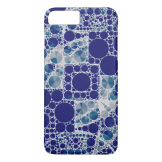 Blue White Bling iPhone 7 Plus Case