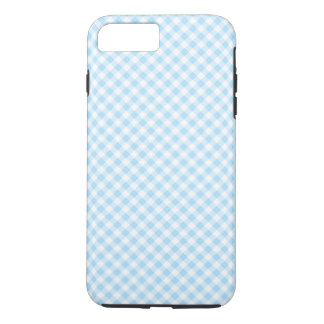 Blue & White Checked Gingham Phone Case