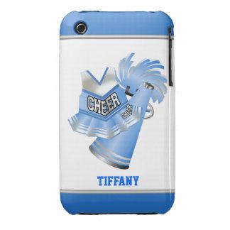 Blue & White Cheerleader Custom iPhone 3G Case