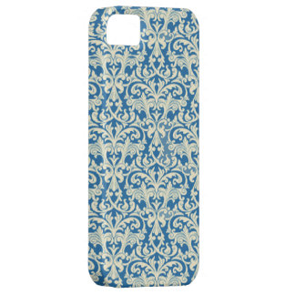 Blue White Damask iPhone 5 Cover