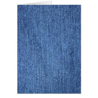 Blue White Denim Texture Look Image Card
