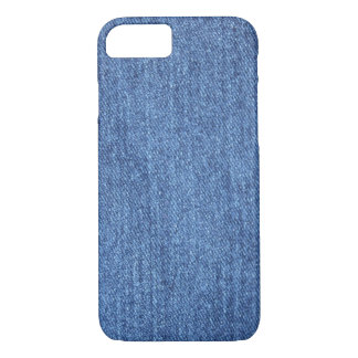 Blue White Denim Texture Look Image iPhone 8/7 Case