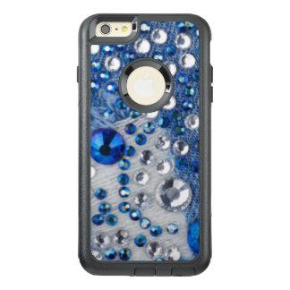 Blue & White Diamonds Blue Jean Pattern Design OtterBox iPhone 6/6s Plus Case