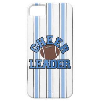 Blue & White Football Cheerleader iPhone 5 Case