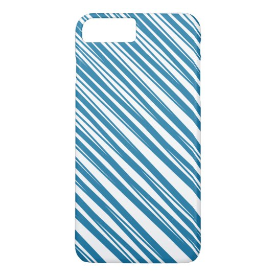 Blue & White Patterned iPhone 7 Case