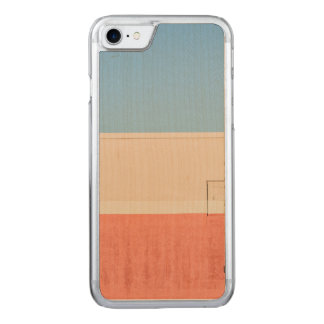 Blue White Red Carved iPhone 8/7 Case