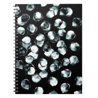 Blue White Spots Notebook