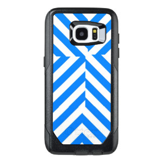 Blue & White Stripe Cell Phone Case