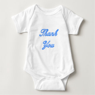 Blue White Thank You Design The MUSEUM Zazzle Gift T Shirts